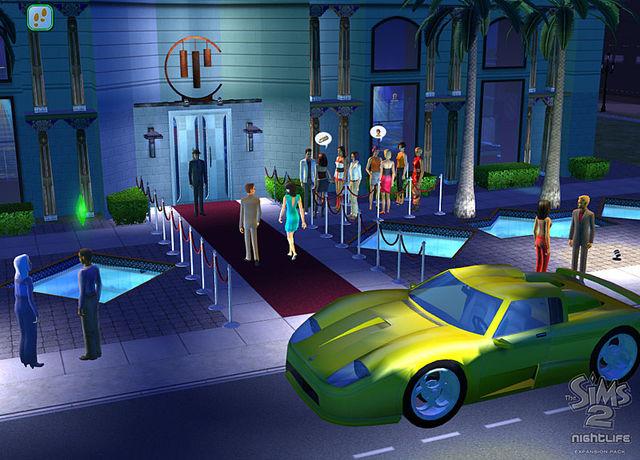 Игру Симс 2 Ночная Жизнь