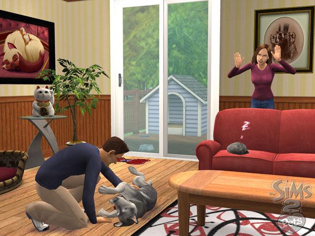 игру симс 2 питомцы скачать бесплатно на компьютер - фото 11