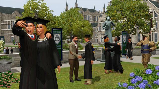 скачать игру Sims 3 студенческая жизнь на компьютер бесплатно через торрент - фото 6