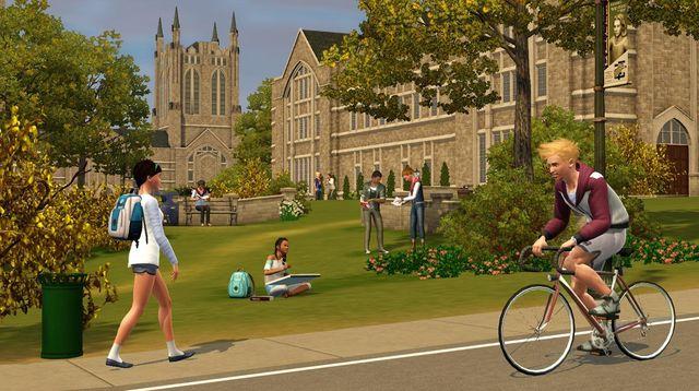 скачать игру Sims 3 студенческая жизнь на компьютер бесплатно через торрент - фото 4